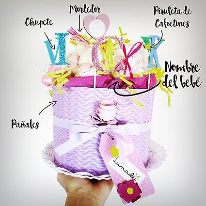 Tarta de Pañales DODOT | Modelo IRIS | Personalizable con el ...