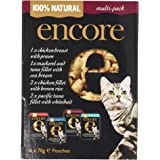 Encore Natural Cat Food Mixed Selection, 6 x 70g