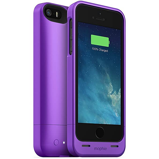 2a369b37b Image Unavailable. Image not available for. Color: mophie Juice Pack Helium  2468 for iPhone 5/5s/SE ...