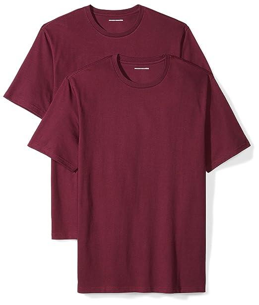 ad8e10064 Amazon Essentials Men's 2-Pack Loose-Fit Short-Sleeve Crewneck T-Shirts