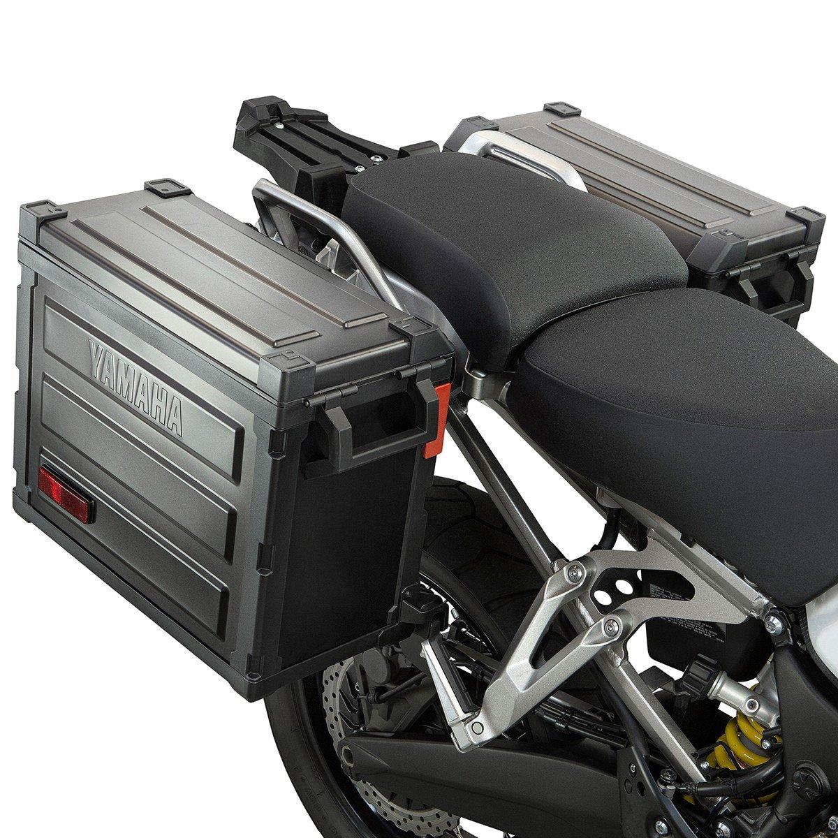 Yamaha Super Ténéré Accessories Side Cases Black, Right Side 23P-F84B8-R0-00