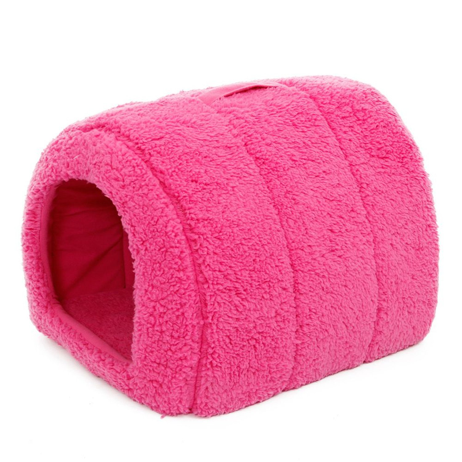 pink red M pink red M Leroyca Cat House and Pet Beds 5 colors Beige and Red Purple Khaki Black with Paw Stripe White with Paw Stripe pink red M