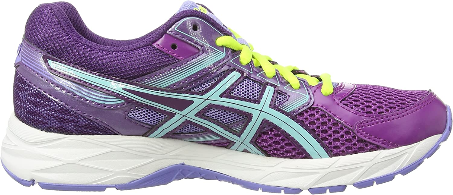 Asics Gel-Contend 3, Zapatillas de Running para Mujer, Morado Grape Aqua Splash Lavender 3667, 37.5 EU: Amazon.es: Zapatos y complementos
