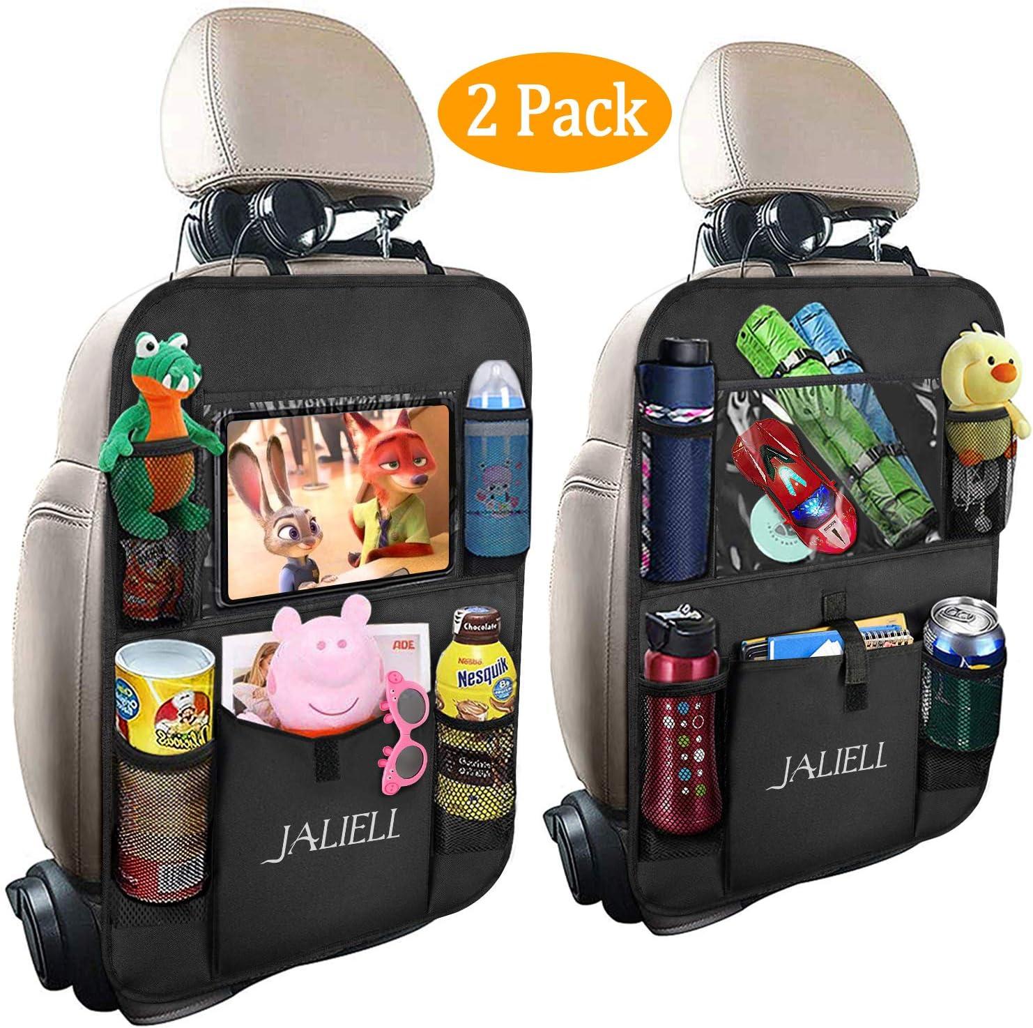 organizador de asiento de coche bolsillos para asiento de coche Derecha organizador lateral iSunday caja de almacenamiento piel sint/ética Organizador lateral para asiento de coche beige