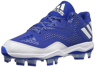 24547dd7c95 adidas Women s PowerAlley 4 W TPU Baseball Shoe Collegiate Royal White