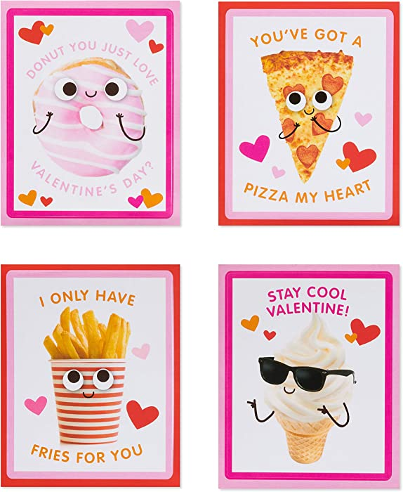 Top 6 Food Valentine Cards