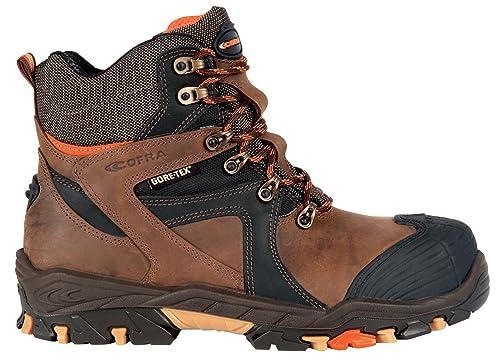 Cofra Ramses S3 WR SRC par de zapatos de seguridad talla 46 MARRÓN
