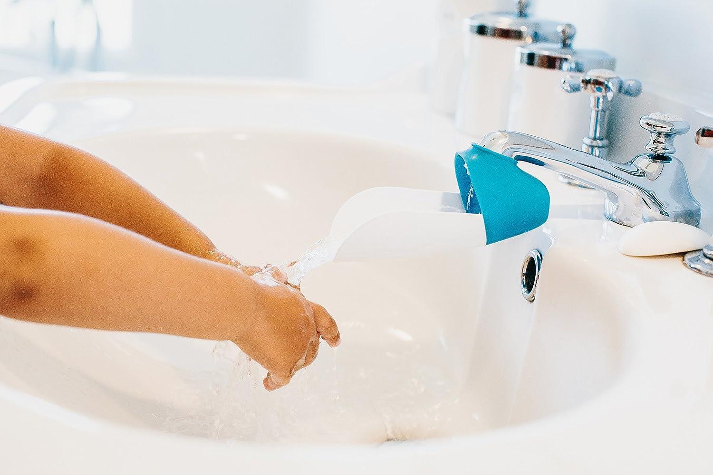Prince Lionheart Faucet Extender, Blue/Grey, 2 Count : Baby