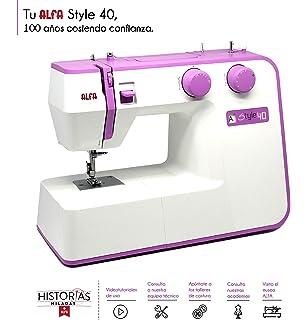 Alfa NEXT 40 Spring - Máquina de coser con 25 puntadas ...