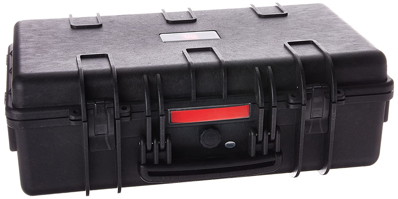 "Monoprice Weatherproof Hard Case with Customizable Foam, 22"" x 14"" x 8"""