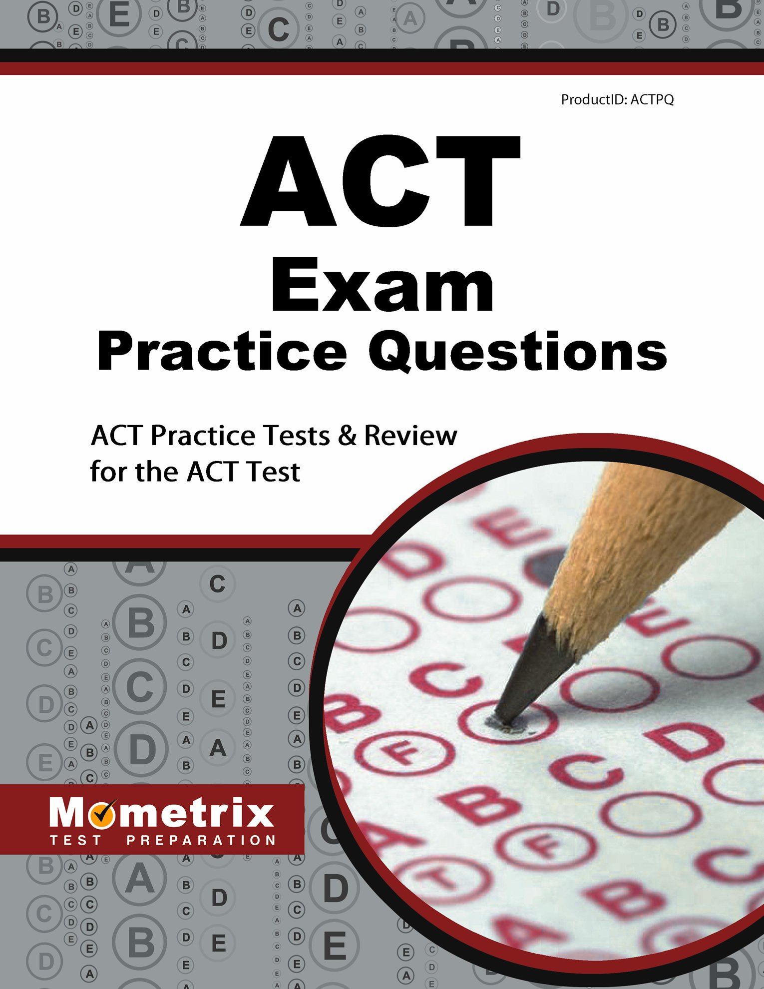 ACT Exam Practice Questions Review product image