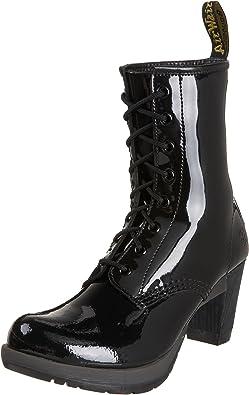 Derecho Calamidad caligrafía  Dr. Martens Darcie - Zapatos de Charol para Mujer, Color Negro, Talla 37:  Amazon.es: Zapatos y complementos