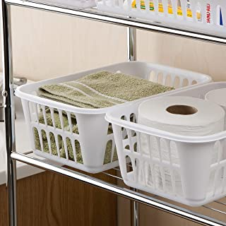 product image for Sterilite 16088048 Storage Basket, White, 48-Pack