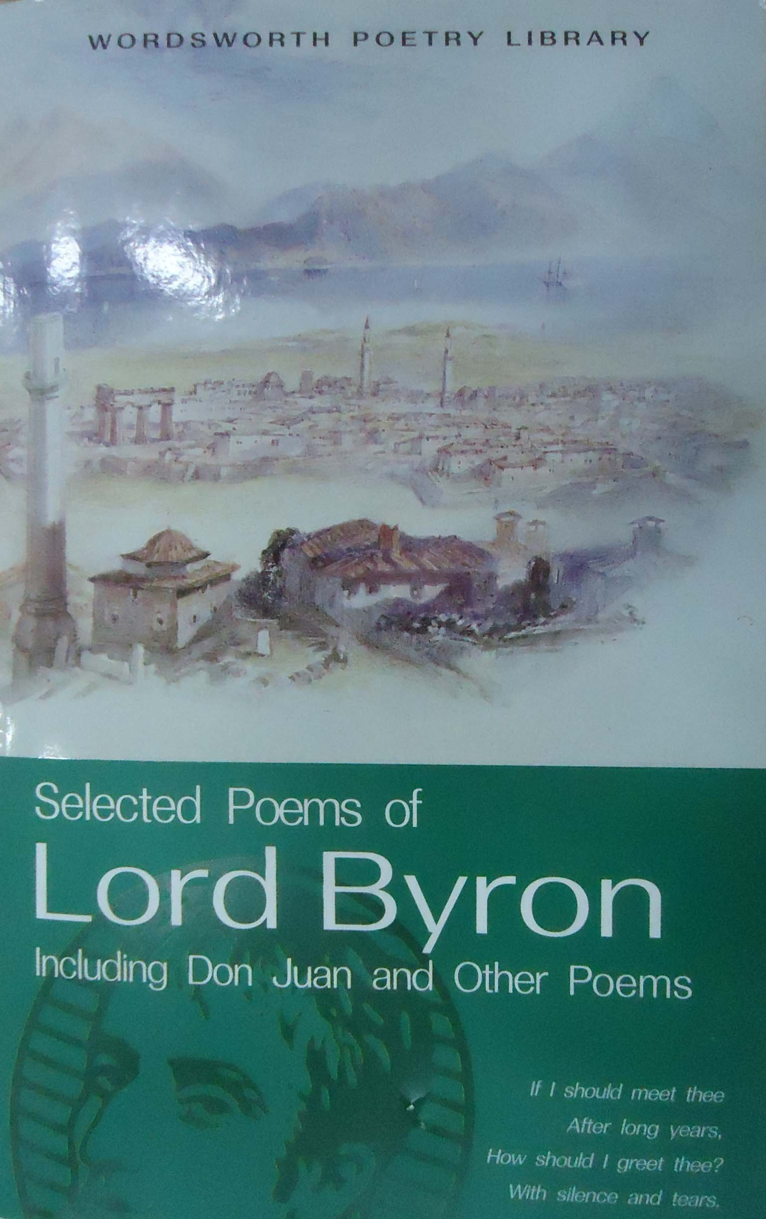 Selected Poems of Byron (Wordsworth Poetry Library): George Gordon Byron:  8601404285011: Amazon.com: Books