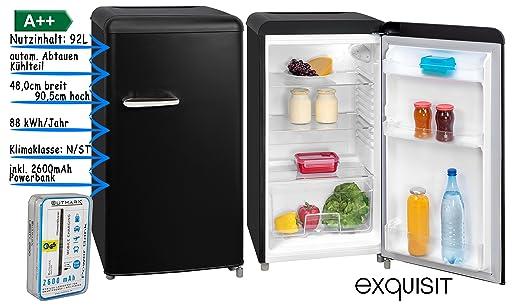Kühlschrank Retro Schwarz : Retro kühlschrank vollraum kühlschrank ohne gefrierfach