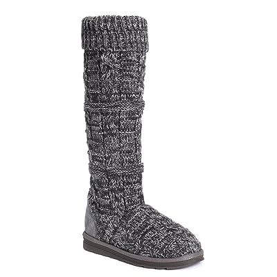 MUK LUKS Women's Shelly Boots-Grey Fashion | Shoes
