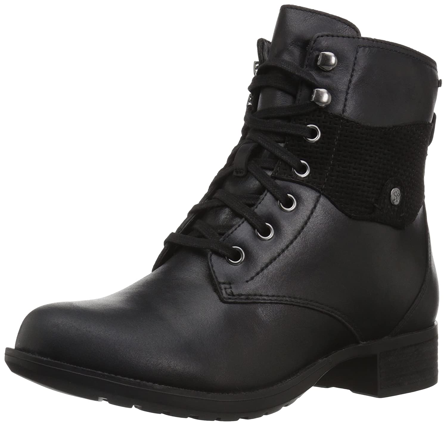 Rockport Women's Copley Lace up Winter Boot B01N26YT9Q 7.5 W US|Black Leather