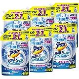 【ケース販売】アタック 抗菌EX スーパークリアジェル 洗濯洗剤 液体 詰替用 大容量 1.6kg×6個