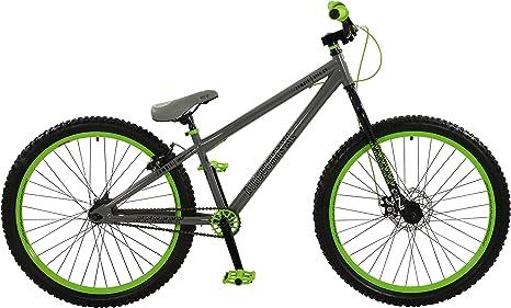 Bicicleta Boy Airbourne XL, color gris/verde, tamaño de rueda 26 ...