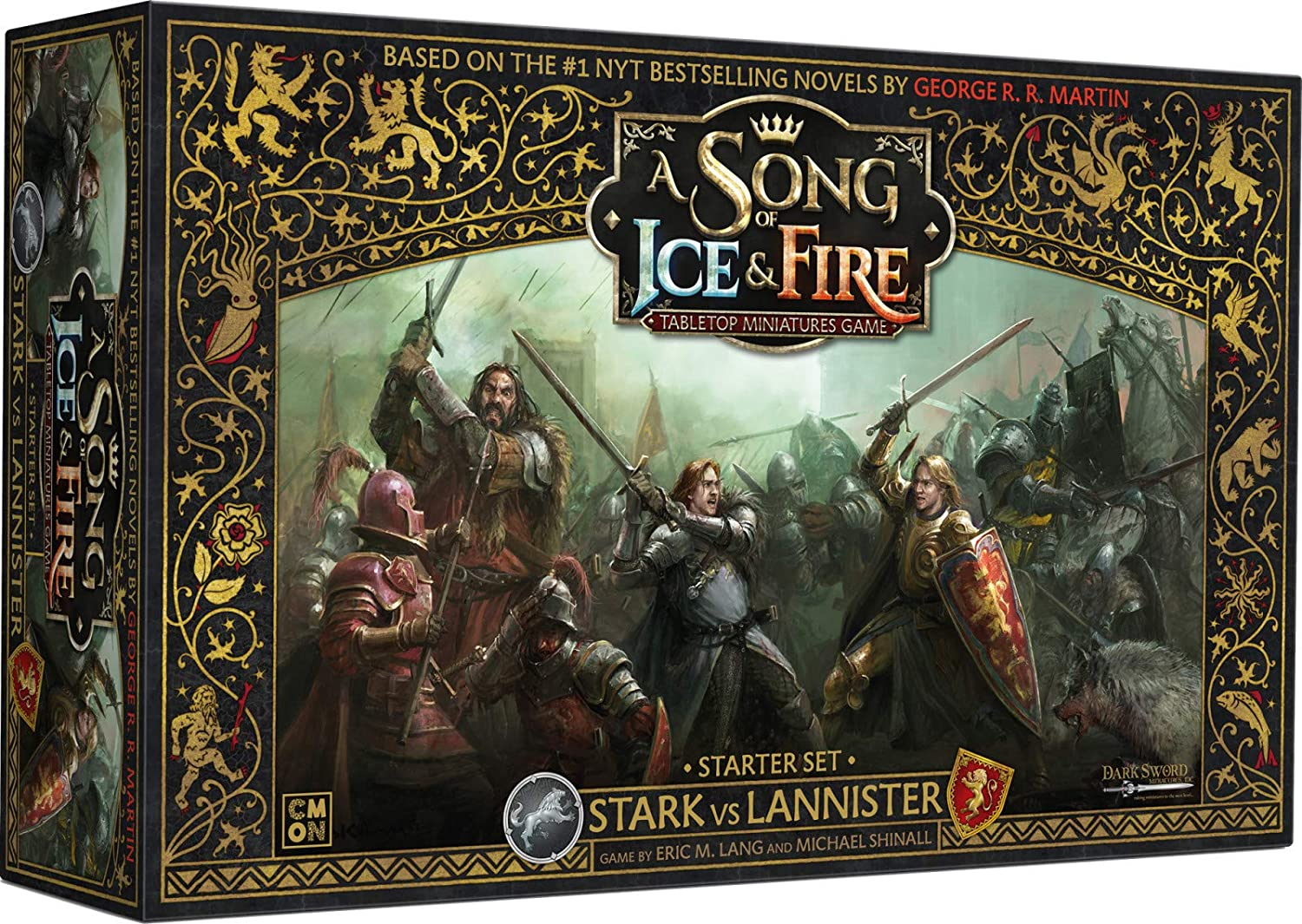 CMON A Song of Ice & Fire: Stark Vs Lannister Starter Set: Amazon ...