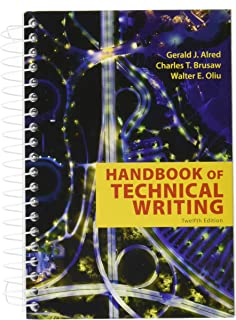 Tenth Edition Handbook of Technical Writing