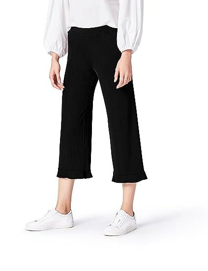 Amazon Marke: find. Damen Hose mit Kontrastnähten