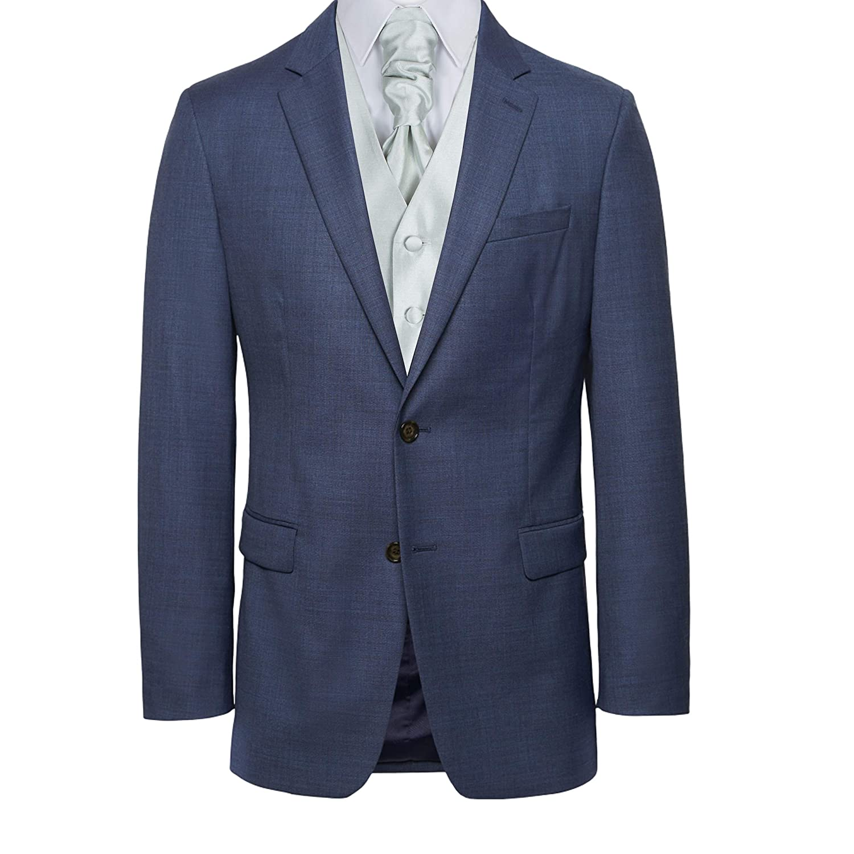 Shantung Wedding Cravat Formal Mens Cravat