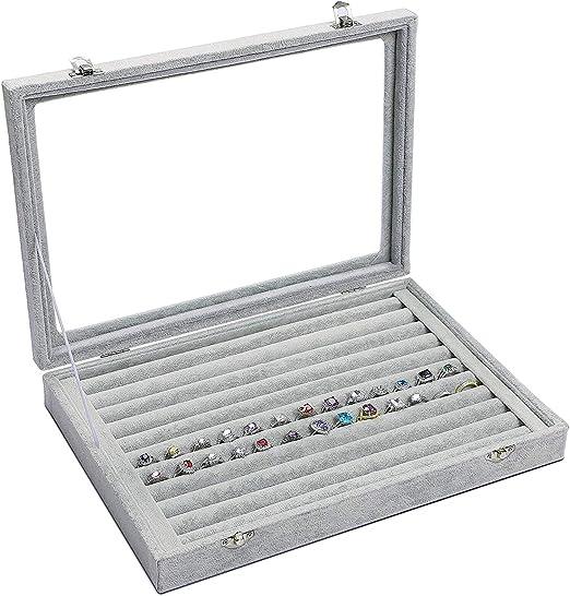 1801 St/ück metallringe zum basteln Ringe Silber kettenringe mit transparenter Box zur Schmuckherstellung und Reparatur von Halsketten