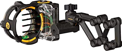 Trophy Ridge React H4 4 Pin .019 Bow Sight Right Hand with Light