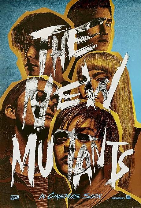 Amazon.com: THE NEW MUTANTS MOVIE POSTER 2 Sided ORIGINAL INTL Advance  27x40 ANYA TAYLOR-JOY: Posters & Prints