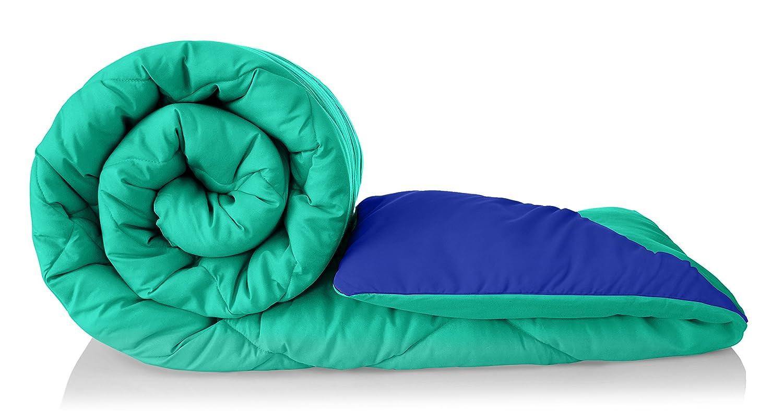Amazon Brand - Solimo Microfibre Reversible Comforter,