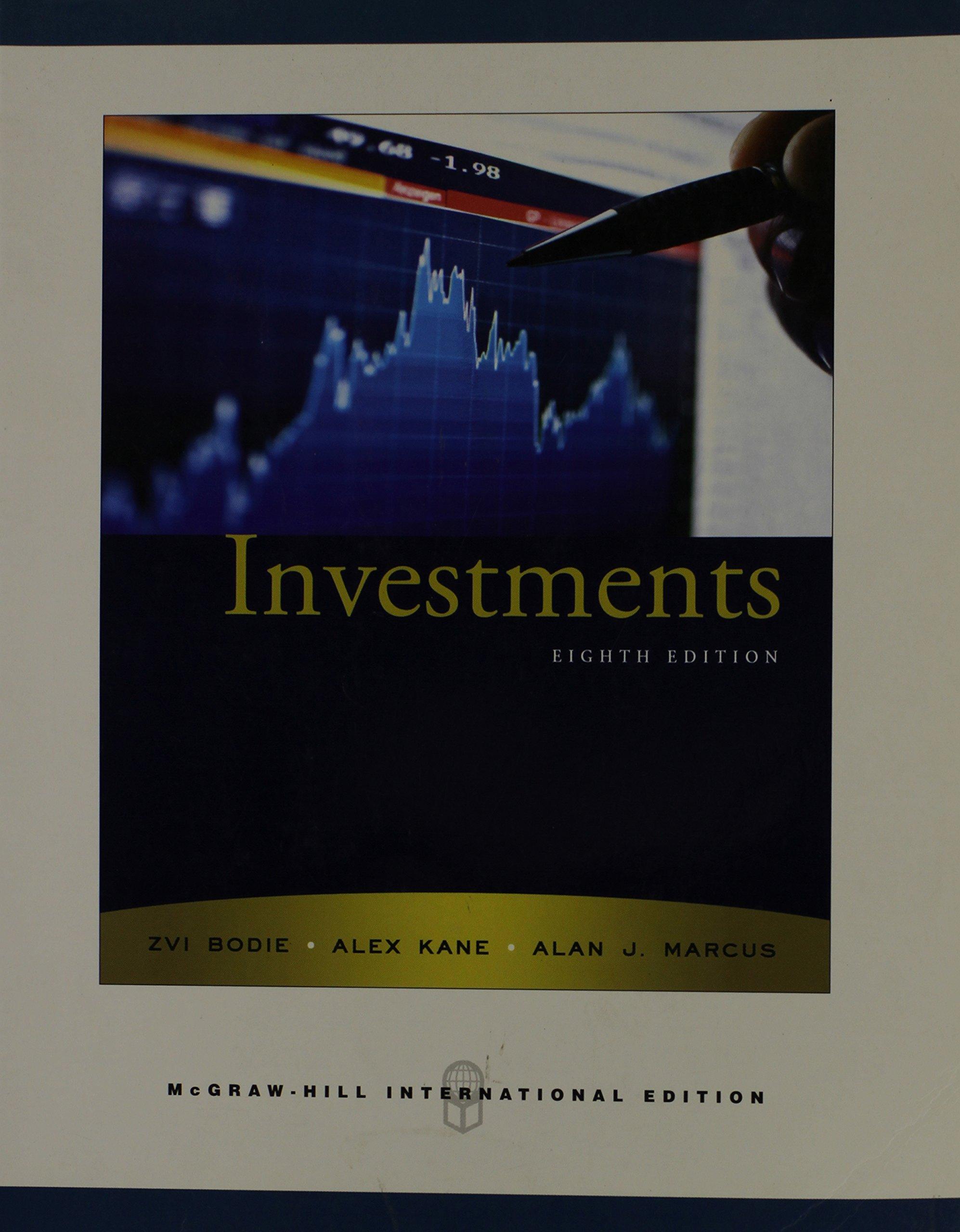 Investments: Amazon.co.uk: Zvi Bodie, Alex Kane, Alan J. Marcus:  9780071263252: Books