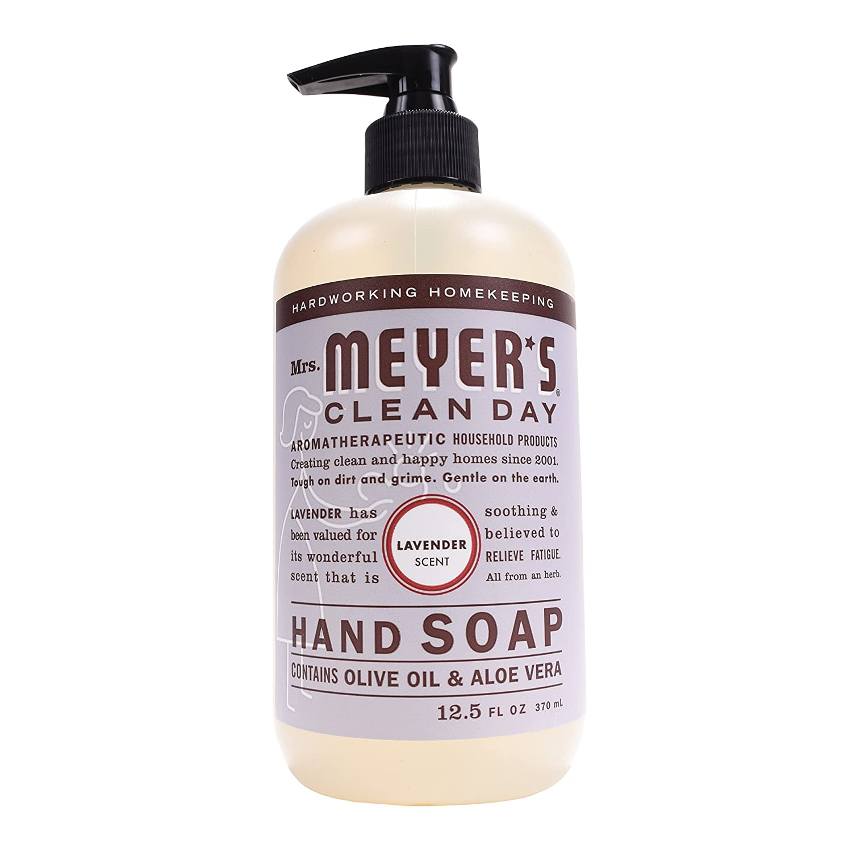 Mrs. Meyer's Hand Soap Lavender, 12.5 Fluid Ounce (Pack of 3)