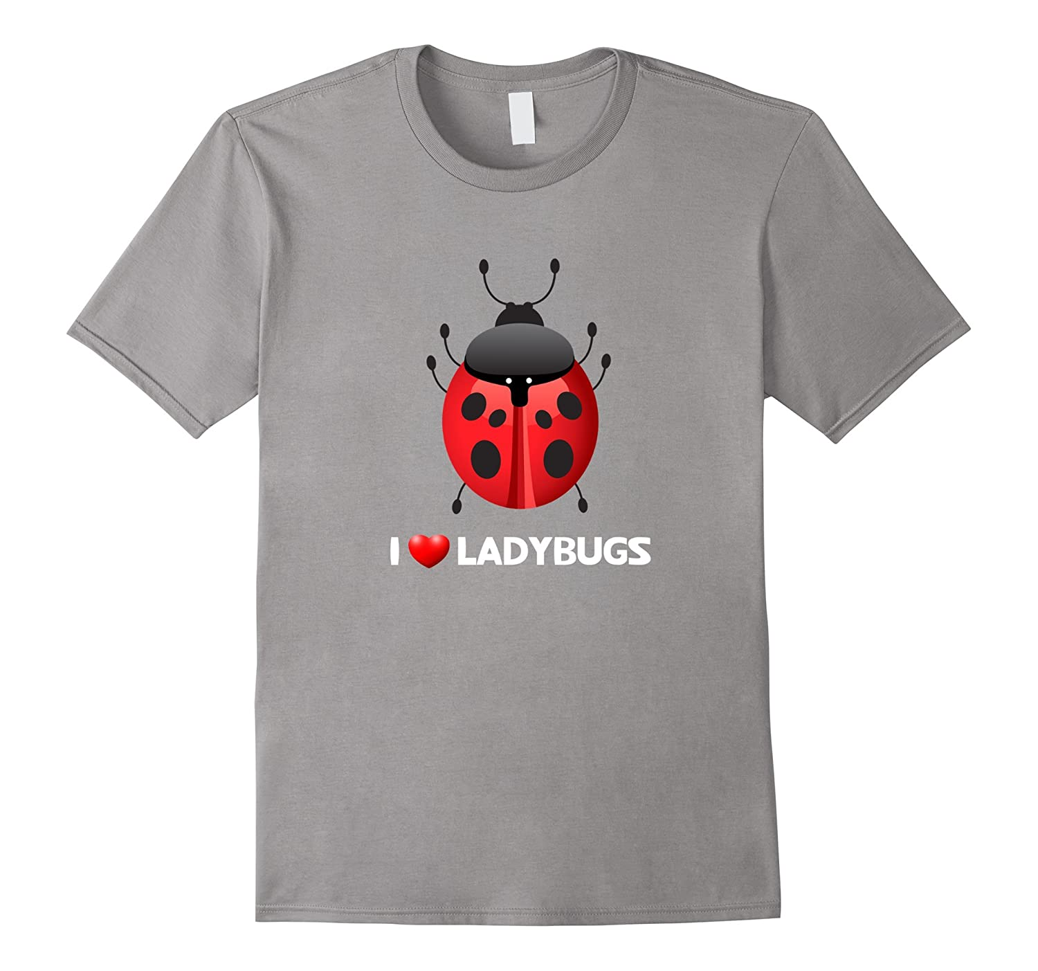 Adorable I Love Ladybugs - Cute Insect T-Shirt-T-Shirt