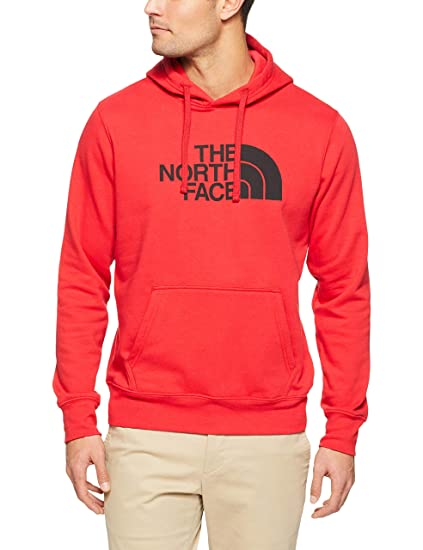 680f408d3 The North Face Men's Half Dome Pullover Hoodie - TNF Red & TNF Black ...
