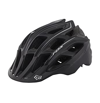 Casco Fox Striker, todo el año, Unisex, color Negro - negro mate,