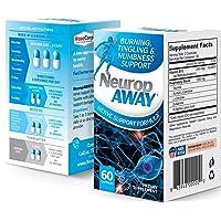 NeuropAWAY Nerve Support Formula Neurop Pain Relief | 60 Capsules Nerve Pain Relief...