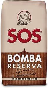 SOS Arroz Bomba 1 kg: Amazon.es: Alimentación y bebidas