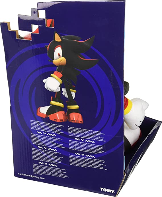 Amazon Com Sonic Modern Shadow Plush Toy Black Yellow Red Toys Games