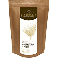 Sevenhills Wholefoods Organic New Zealand Wheatgrass Powder 1kg