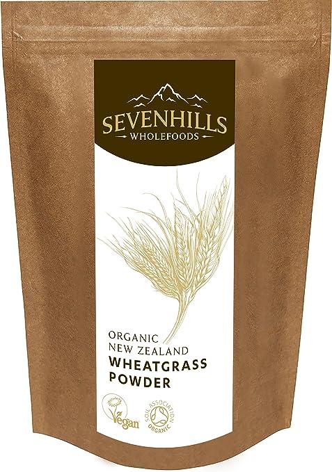 10 opinioni per Sevenhills Wholefoods Polvere D'Erba Di Grano Nuovo Zelanda Bio 500g