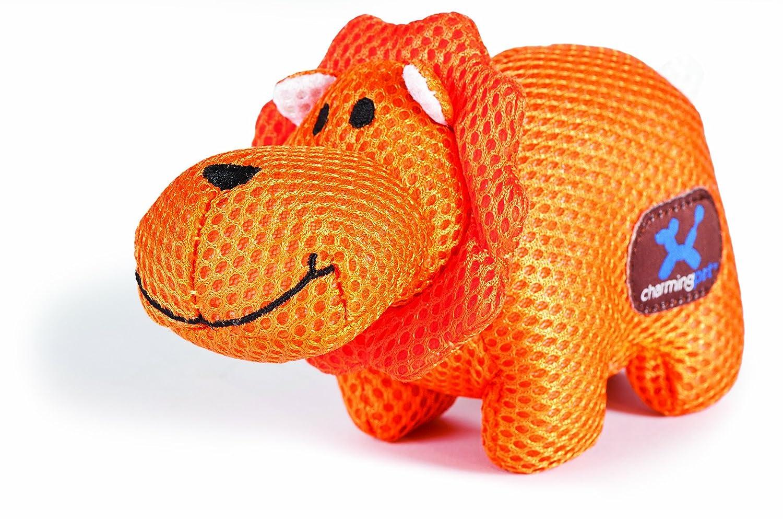 Charming Pet Mesh Lil Roamers Pet Squeak Toy, Lion