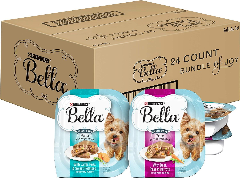Purina Bella Single Serve Adult Wet Dog Food in Savory Juices Variety Packs