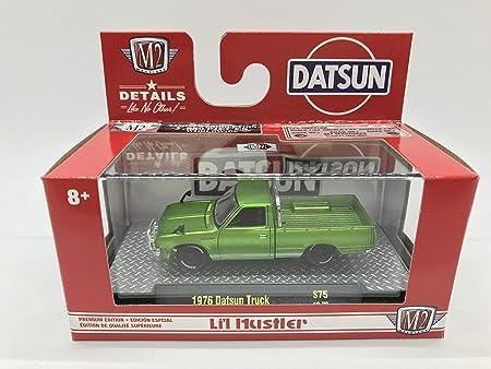 1//64 M2 1977 DATSUN PICKUP TRUCK LI/'L HUSTLER ORANGE