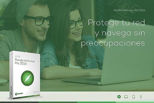 Panda Antivirus Pro 2016 - Software De Seguridad, 1 Licencia, 1 Año: Amazon.es: Software