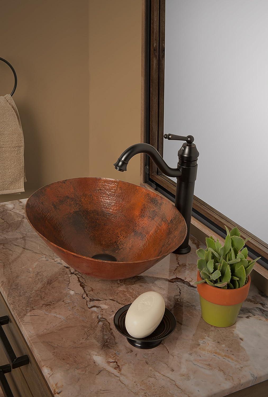 TCV-003AN Novatto BILBOA Copper Vessel Bathroom Sink Antique Inc
