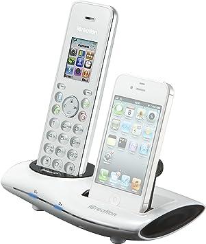 iCreative i650 - Teléfono fijo inalámbrico DECT con Bluetooth [Importado de Francia]: Amazon.es: Electrónica