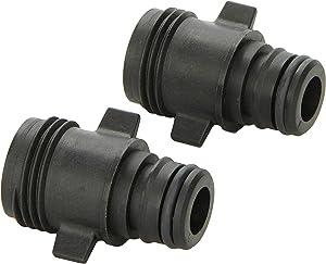 Flojet 20381-007 Quad Port Pump Fitting - Quad Port x Garden Hose Adapter, Straight (20381007)