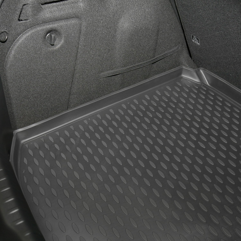 Long Mat Novline MAT067 Custom Tailored Fit Black Rubber Boot Liner