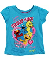 Sesame Street  Girls' Group Hug Short-Sleeve T-Shirt